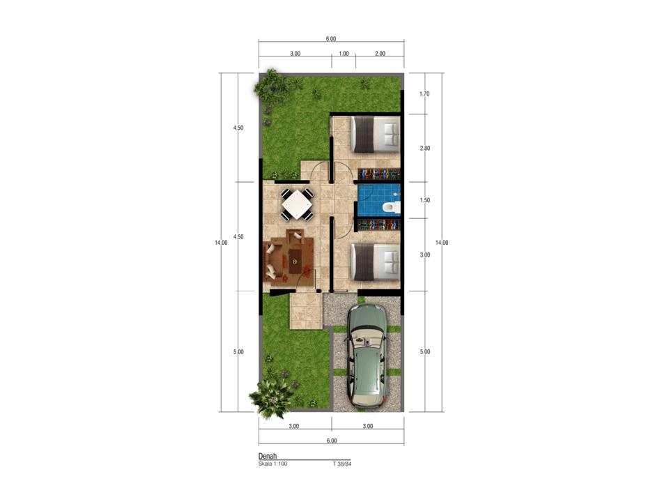 Satuvista Architect Taman Beverly Residence  Samarinda, Kota Samarinda, Kalimantan Timur, Indonesia Samarinda, Kota Samarinda, Kalimantan Timur, Indonesia Floorplan Minimalis  50518