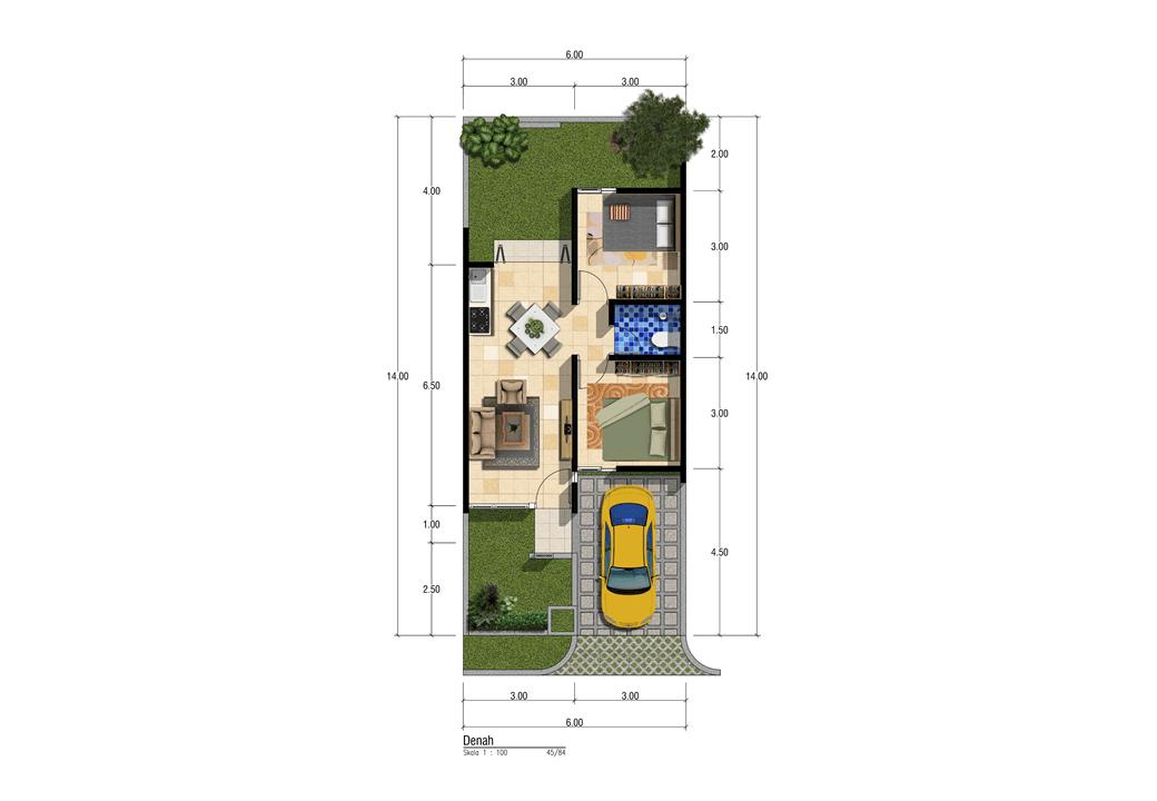 Satuvista Architect Patra Garden Residence  Malang, Kota Malang, Jawa Timur, Indonesia Malang, Kota Malang, Jawa Timur, Indonesia Floorplan Tropical  50585