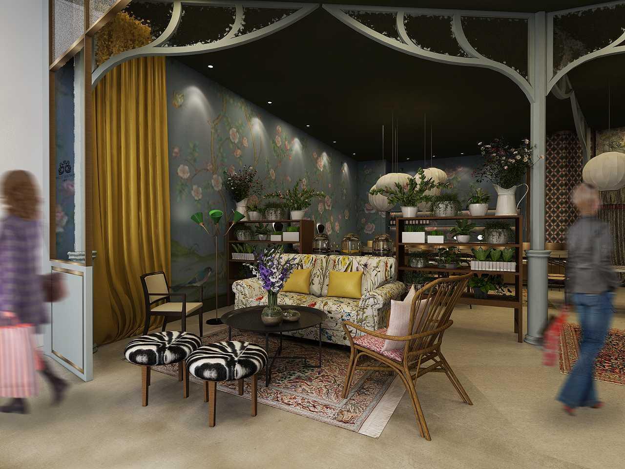 Studio Ig Interior Soematra Flower Cafe Kota Sby, Jawa Timur, Indonesia Kota Sby, Jawa Timur, Indonesia Seating Area Restaurant   49630