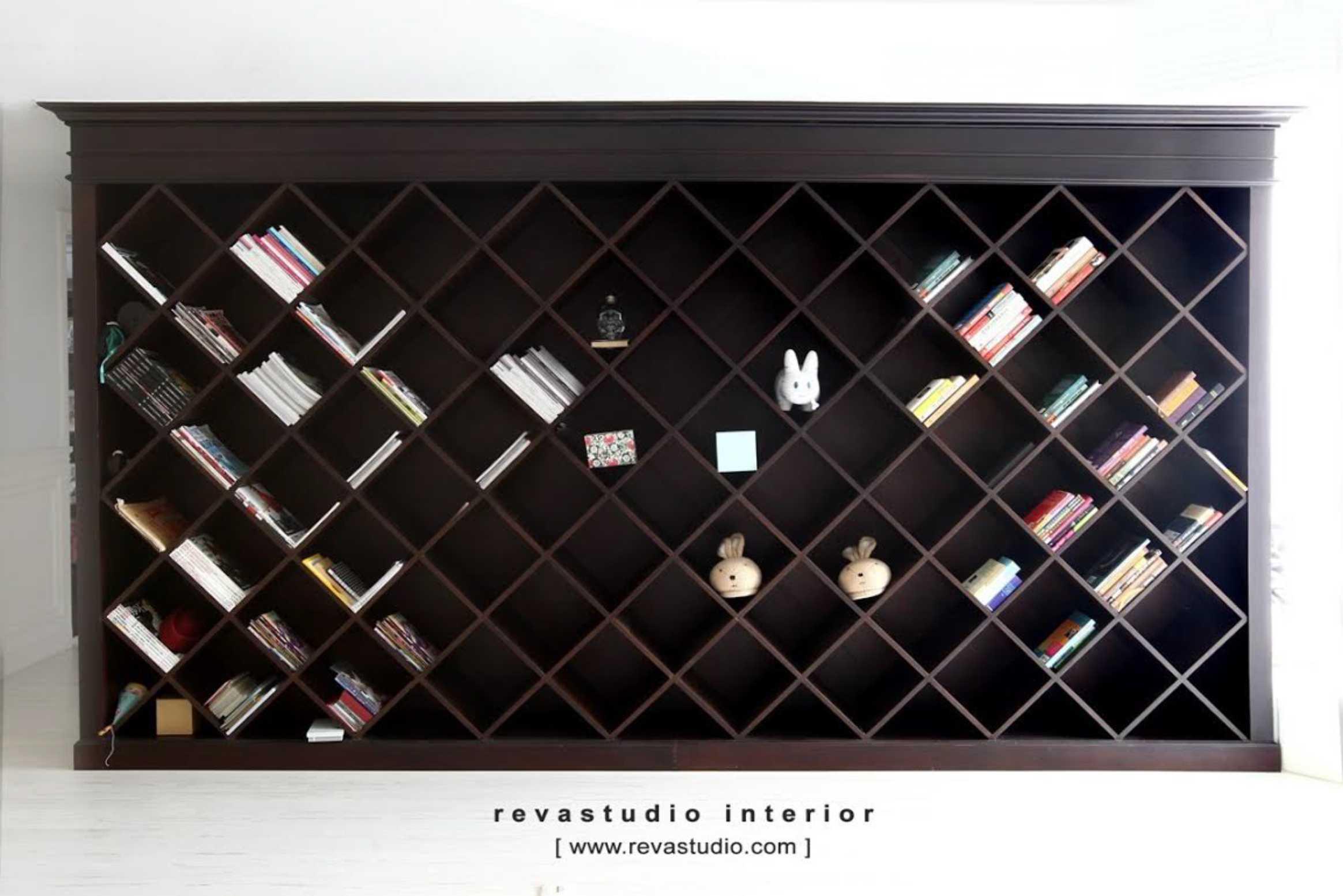Revano Satria The Lego Apartment Jakarta, Indonesia Jakarta, Indonesia Living Room Bookcase   15522