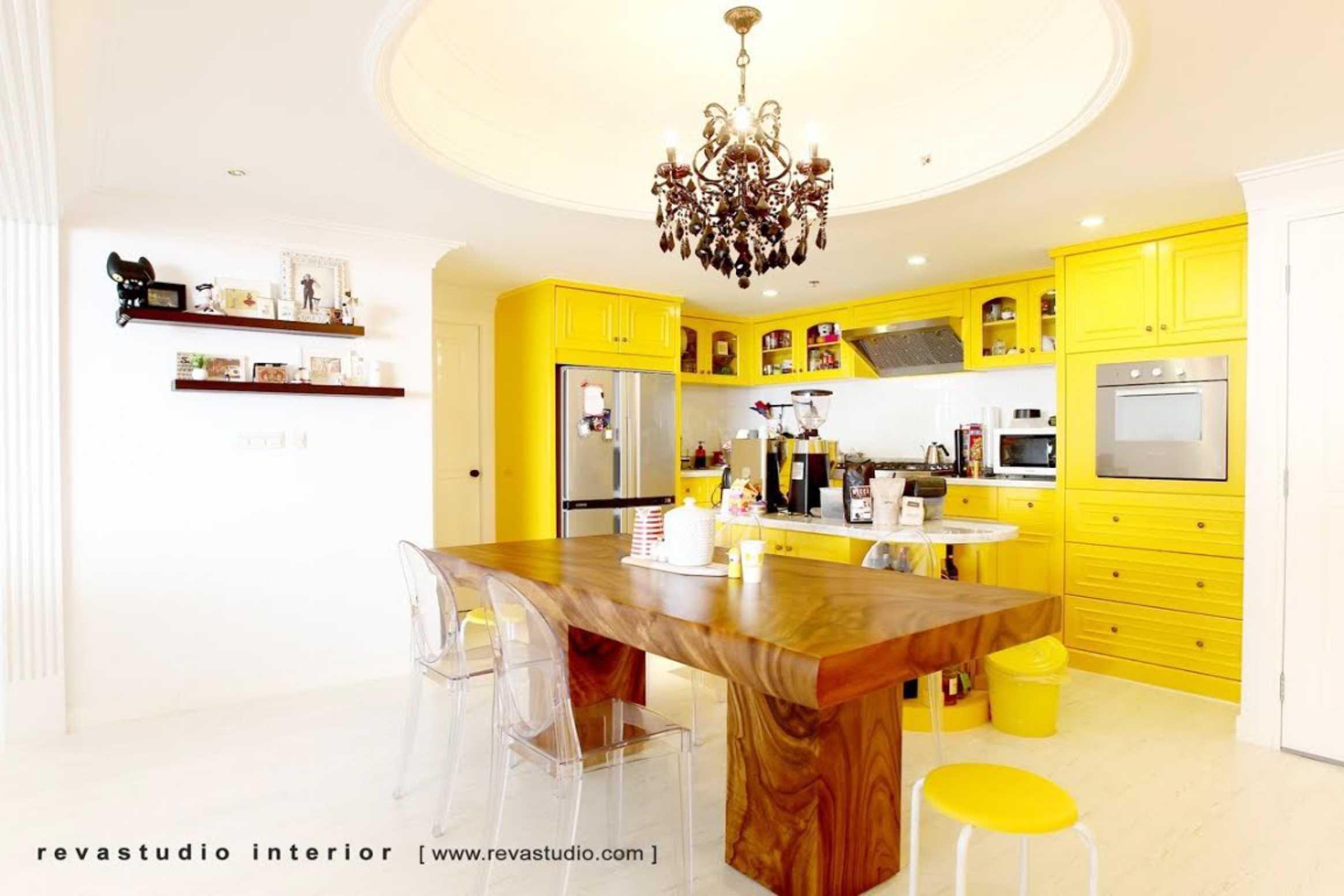 Revano Satria The Lego Apartment Jakarta, Indonesia Jakarta, Indonesia Kitchen & Dining Room   15530