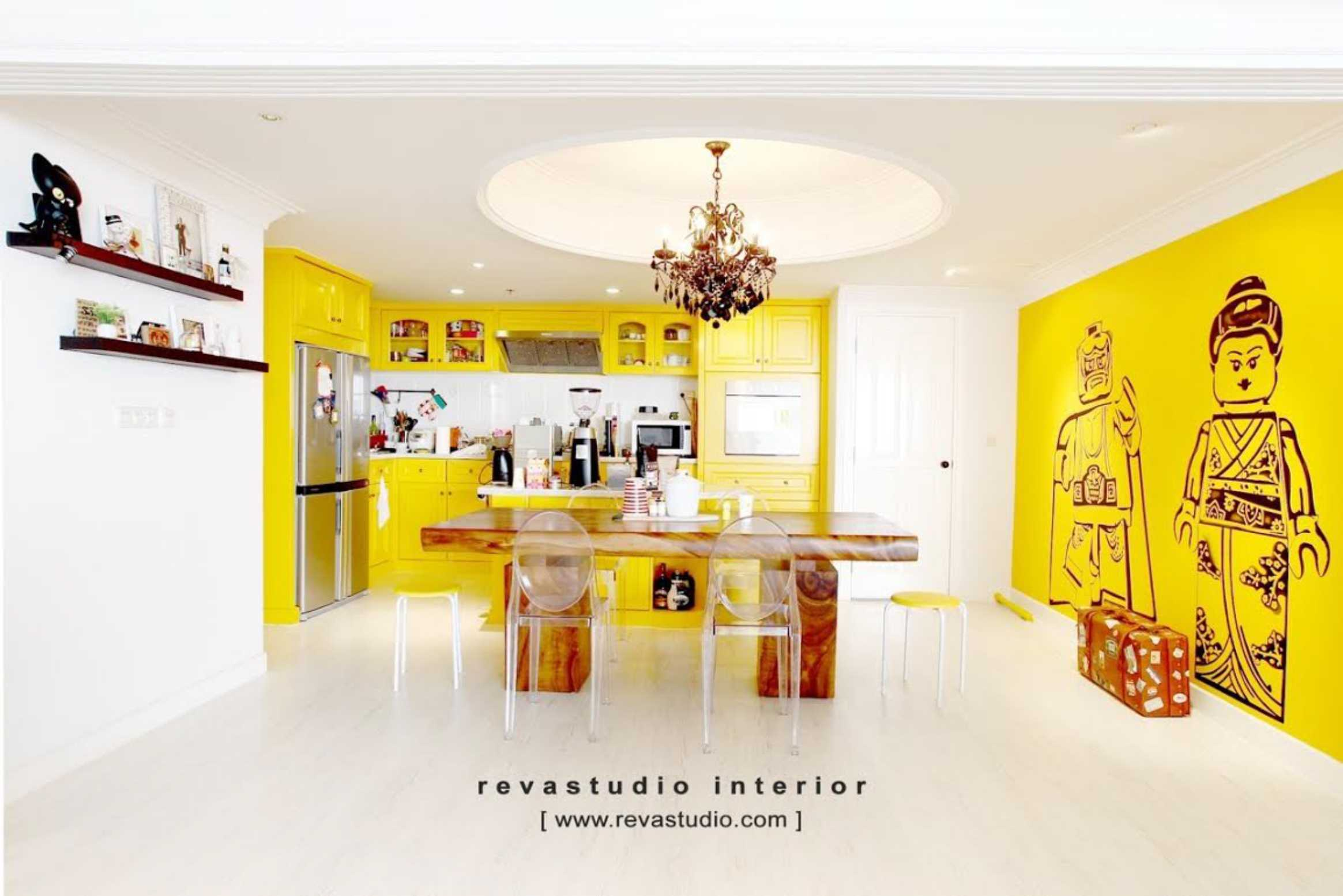 Revano Satria The Lego Apartment Jakarta, Indonesia Jakarta, Indonesia Kitchen & Dining Room   15531