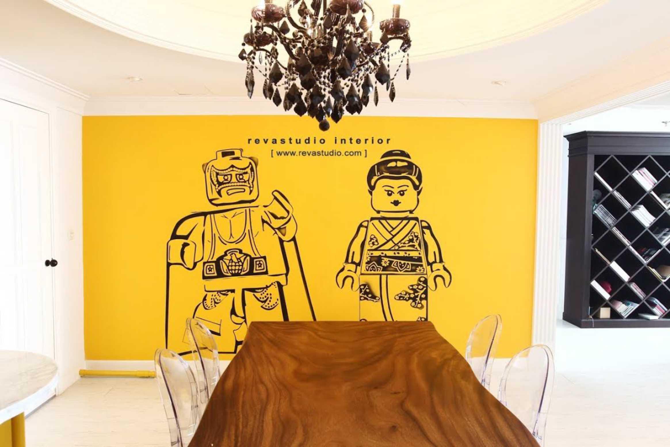 Revano Satria The Lego Apartment Jakarta, Indonesia Jakarta, Indonesia Dining Room   15532