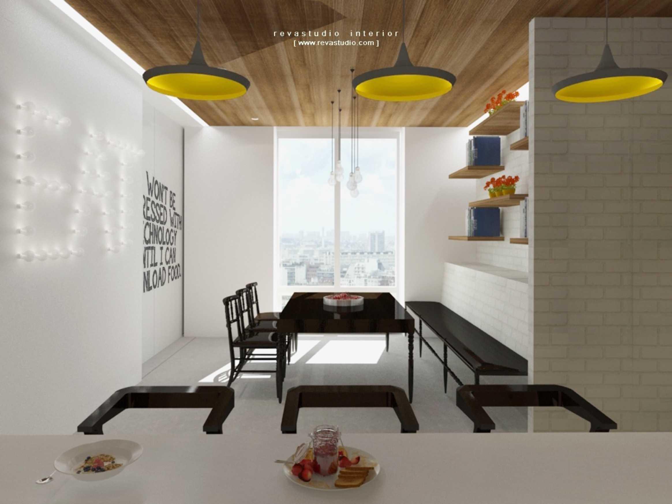 Revano Satria Red Lapin Apartment Jakarta, Indonesia Jakarta, Indonesia Seating-Area-2   15546