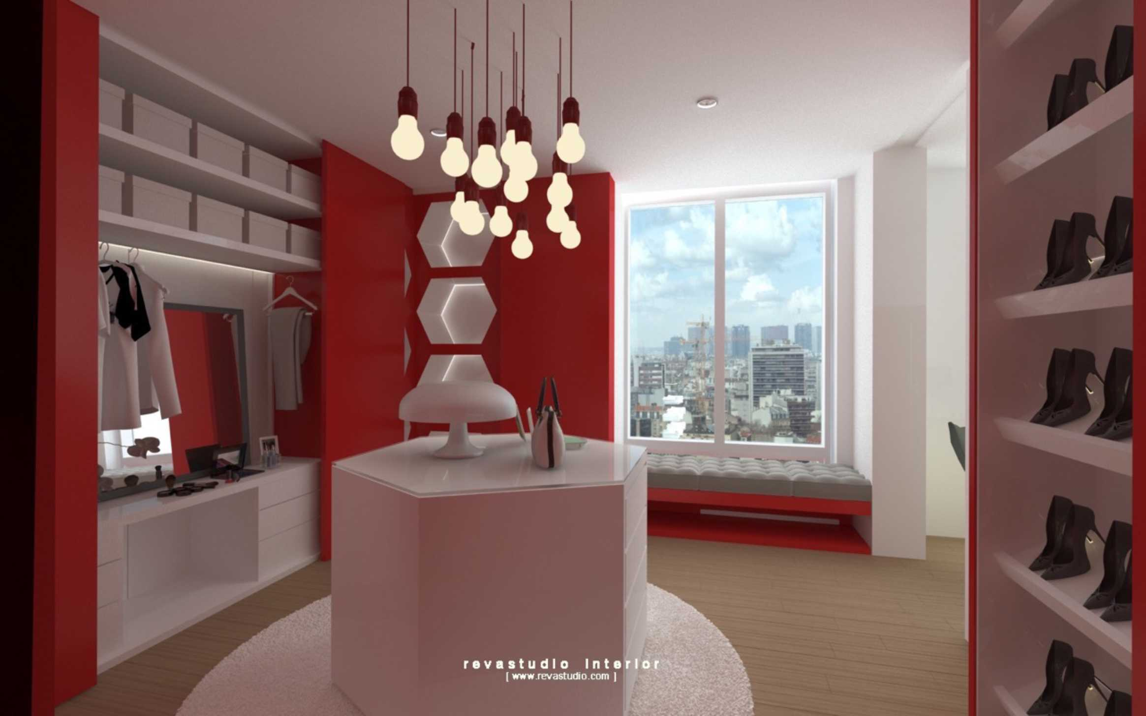 Revano Satria Red Lapin Apartment Jakarta, Indonesia Jakarta, Indonesia Bedroom-Area   15550