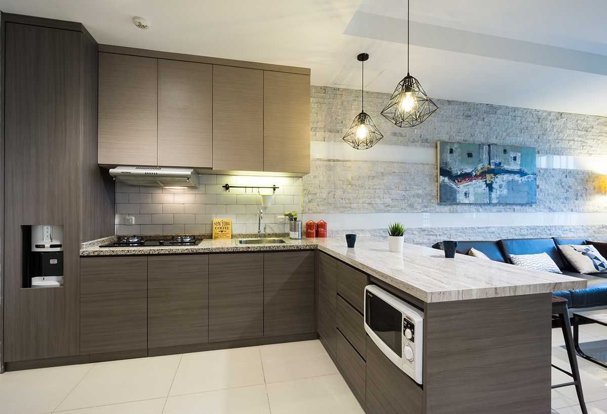 Urbano Livings Thamrin Residence Jakarta, Daerah Khusus Ibukota Jakarta, Indonesia  Kitchen Set Modern  49638