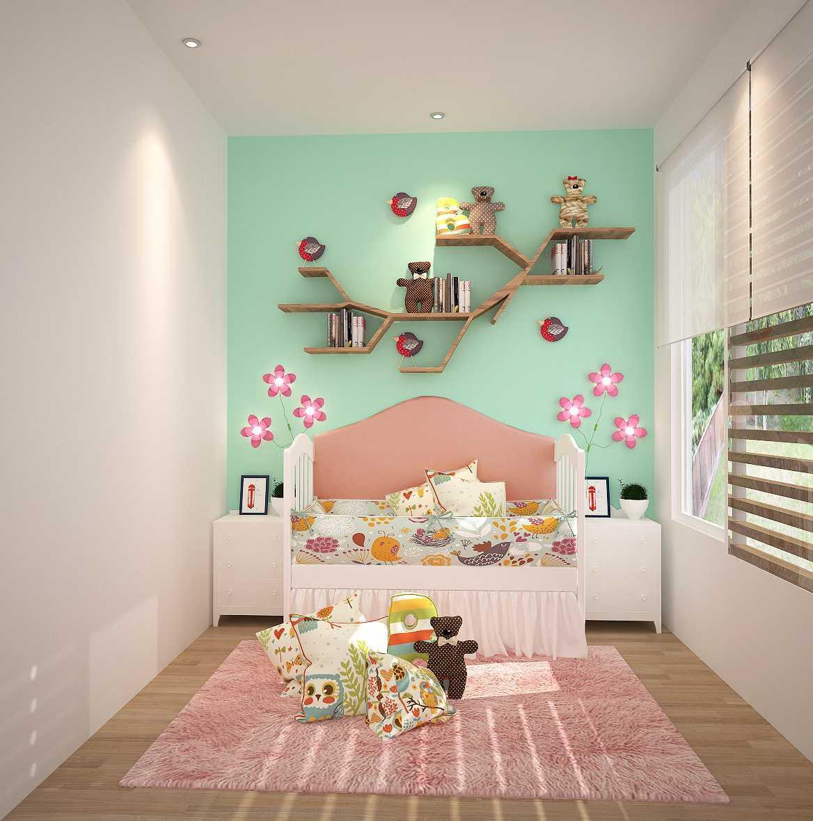 Kaye Interior Design Permata Buana House Daerah Khusus Ibukota Jakarta, Indonesia Daerah Khusus Ibukota Jakarta, Indonesia Kids Bedroom Tropis  48899