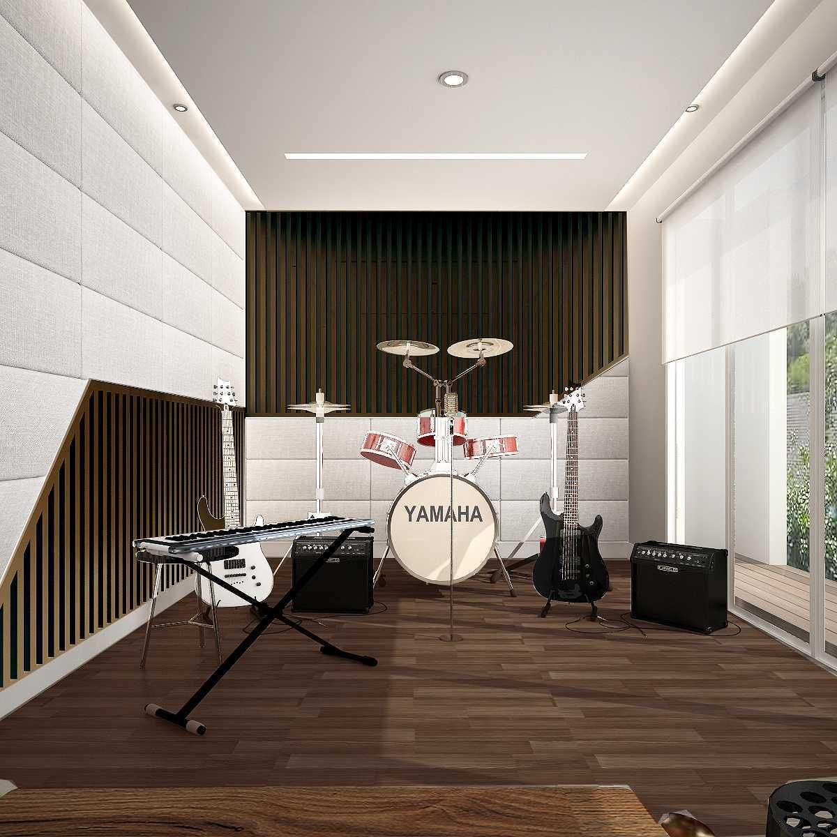 Kaye Interior Design Kemang Pratama House Bekasi, Tambelang, Bekasi, Jawa Barat, Indonesia Bekasi, Tambelang, Bekasi, Jawa Barat, Indonesia Music Room   48916