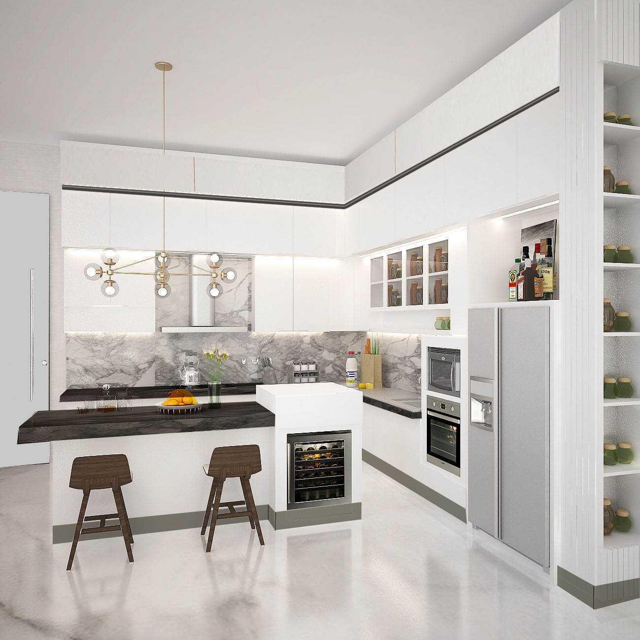 Kaye Interior Design Kemang Pratama House Bekasi, Tambelang, Bekasi, Jawa Barat, Indonesia Bekasi, Tambelang, Bekasi, Jawa Barat, Indonesia Kitchen Area   48917