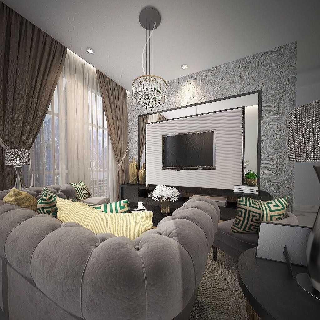 Ky Interior Design Sommerset Apartment Jakarta Selatan, Kota Jakarta Selatan, Daerah Khusus Ibukota Jakarta, Indonesia Jakarta Selatan, Kota Jakarta Selatan, Daerah Khusus Ibukota Jakarta, Indonesia Family Room   48921