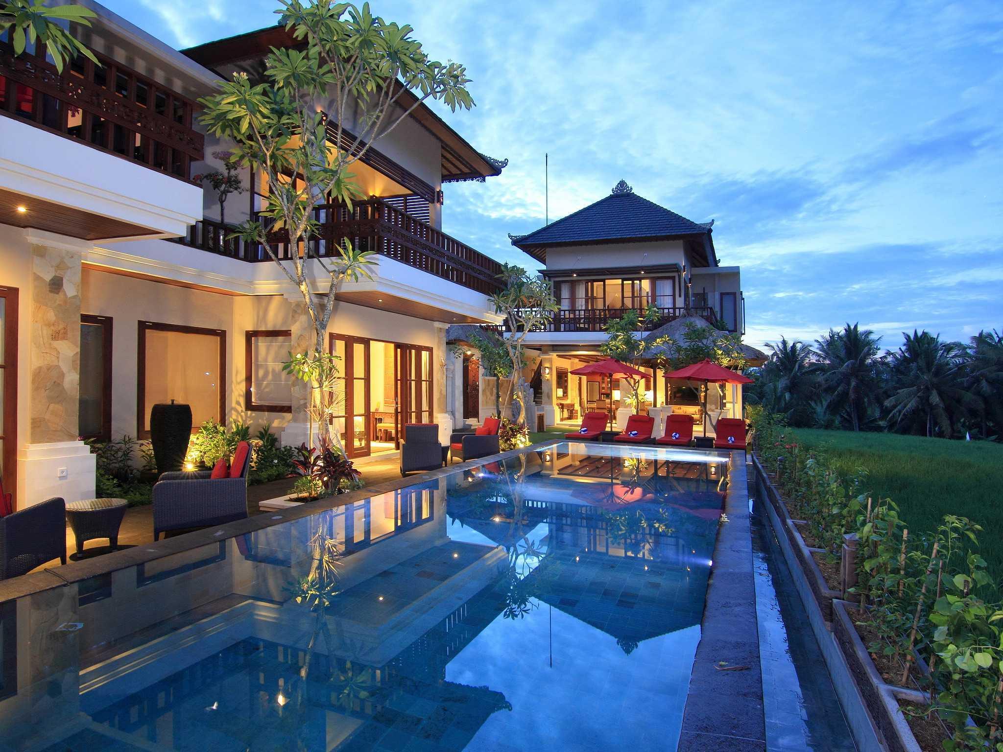 Made Dharmendra Architect Villa Umastana Ubud, Kabupaten Gianyar, Bali, Indonesia Ubud, Kabupaten Gianyar, Bali, Indonesia Swimming Pool View Tropical  49291