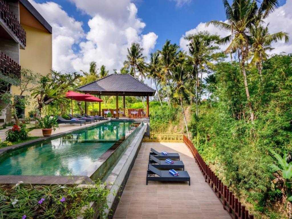 Made Dharmendra Architect Mayura Karma Resort Mas, Ubud, Kabupaten Gianyar, Bali, Indonesia Mas, Ubud, Kabupaten Gianyar, Bali, Indonesia Swimming Pool View Kontemporer  49332