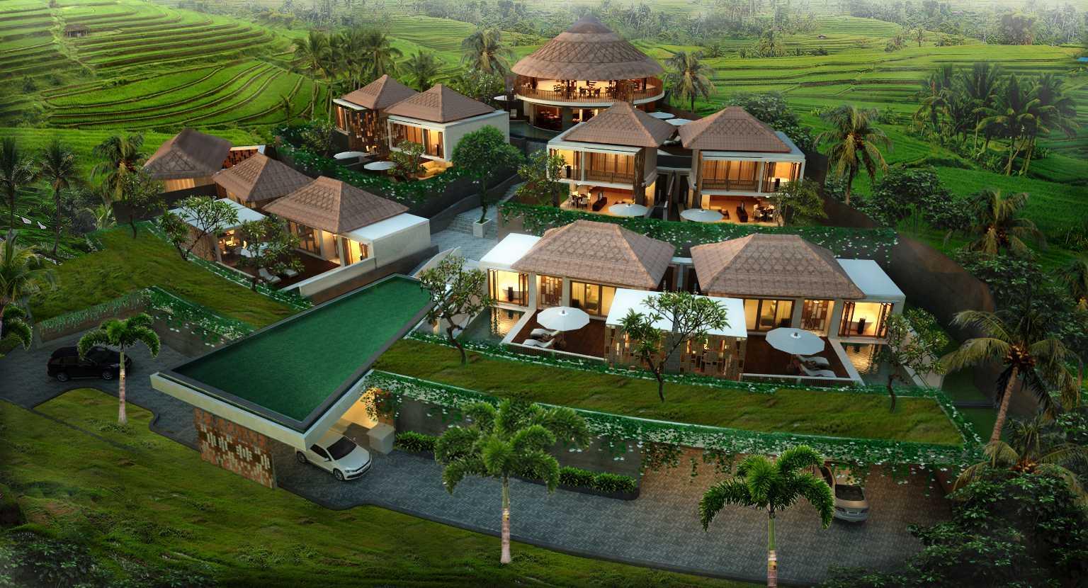 Made Dharmendra Architect Tunon Resort Ubud, Kabupaten Gianyar, Bali, Indonesia Ubud, Kabupaten Gianyar, Bali, Indonesia Bird Eye View Kontemporer  49351