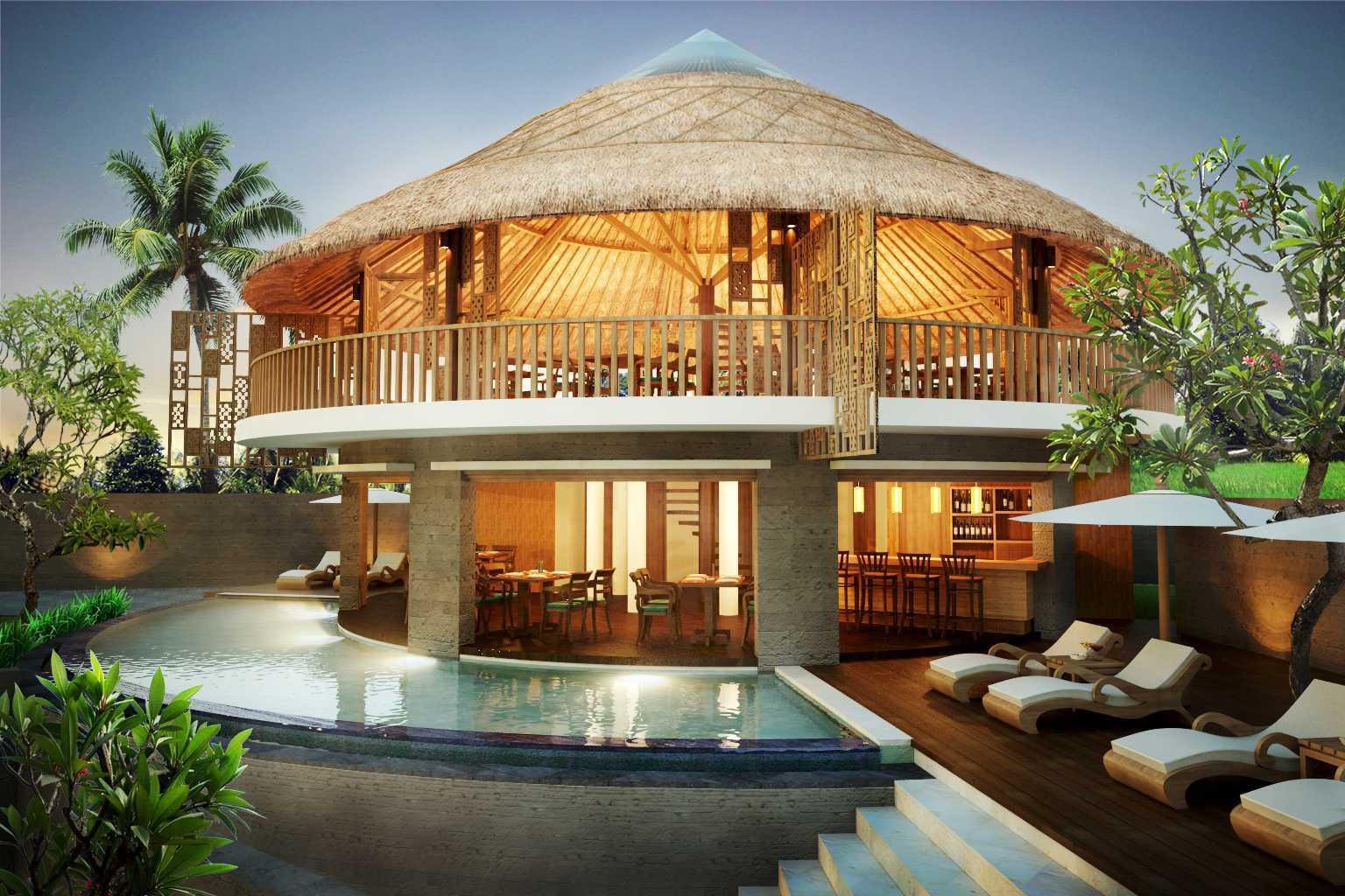 Made Dharmendra Architect Tunon Resort Ubud, Kabupaten Gianyar, Bali, Indonesia Ubud, Kabupaten Gianyar, Bali, Indonesia Swimming Pool View Kontemporer  49353