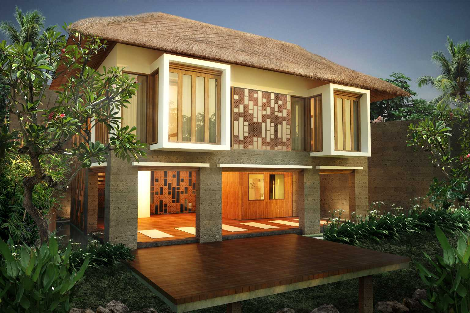 Made Dharmendra Architect Tunon Resort Ubud, Kabupaten Gianyar, Bali, Indonesia Ubud, Kabupaten Gianyar, Bali, Indonesia Exterior View Kontemporer  49354