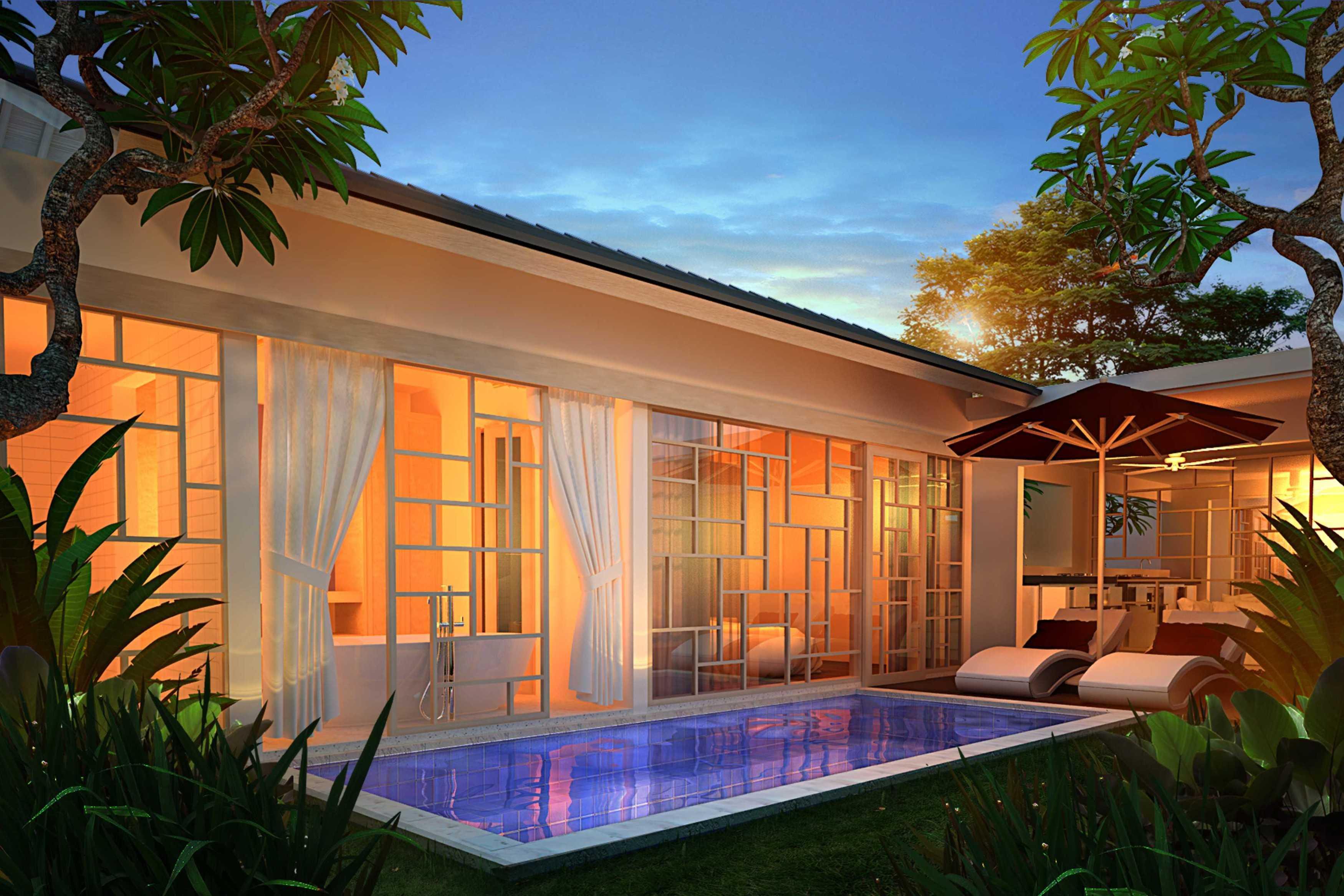 Made Dharmendra Architect Manca Canggu Villa Canggu, Kuta Utara, Kabupaten Badung, Bali, Indonesia Canggu, Kuta Utara, Kabupaten Badung, Bali, Indonesia Pool Area Kontemporer  49390