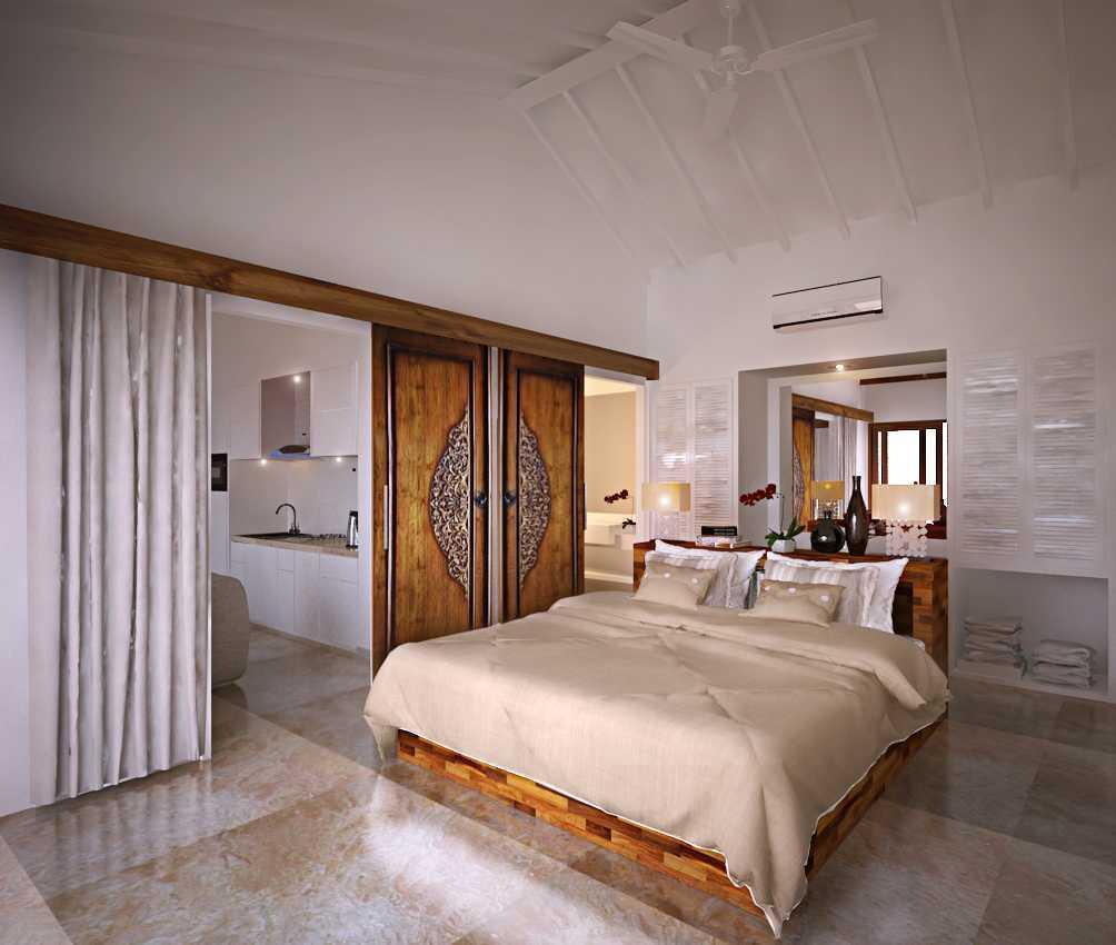 Made Dharmendra Architect Villa Jimbaran Jimbaran, Kuta Sel., Kabupaten Badung, Bali, Indonesia Jimbaran, Kuta Sel., Kabupaten Badung, Bali, Indonesia Bedroom View   49401