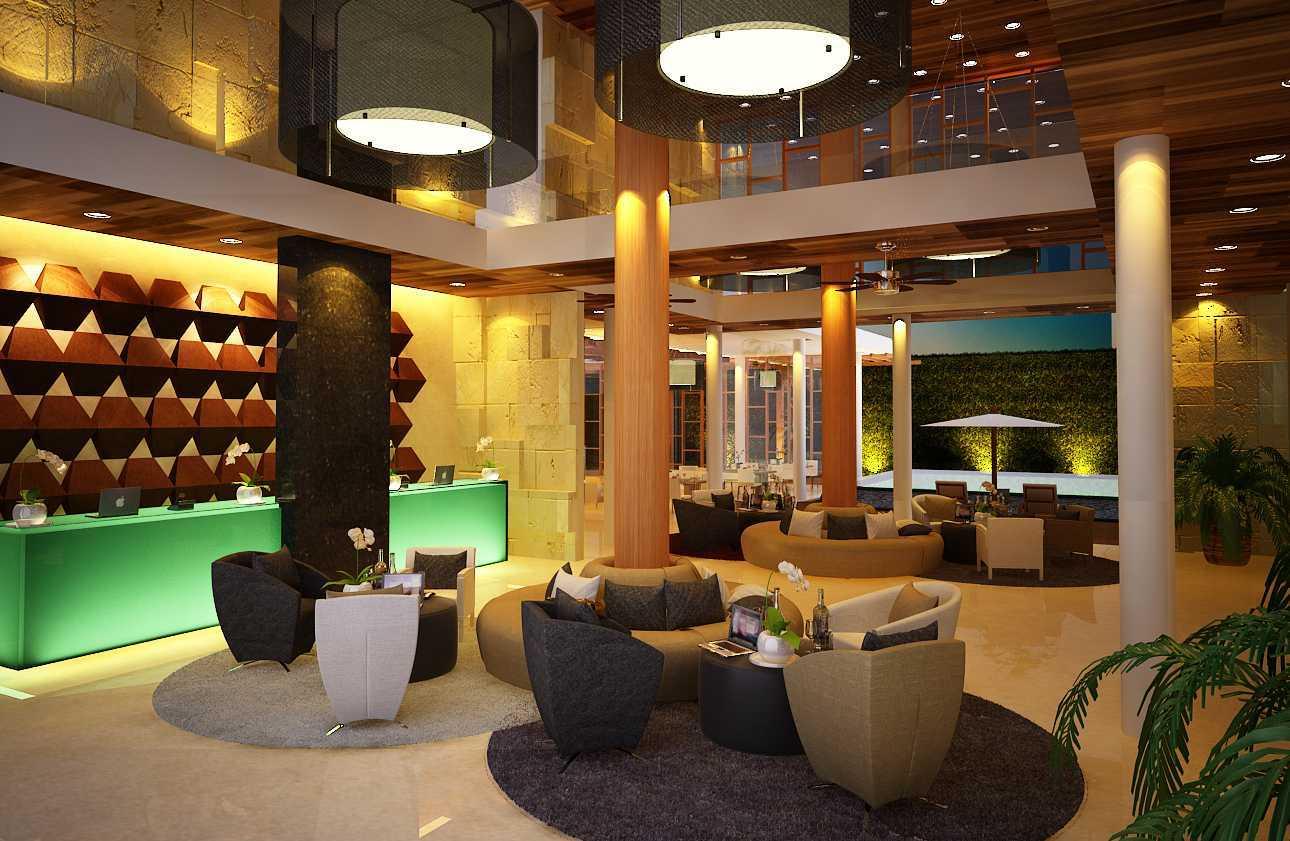 Made Dharmendra Architect Sanur Green View Hotel Sanur, Denpasar Sel., Kota Denpasar, Bali, Indonesia Sanur, Denpasar Sel., Kota Denpasar, Bali, Indonesia Receptionist Area Kontemporer  49485