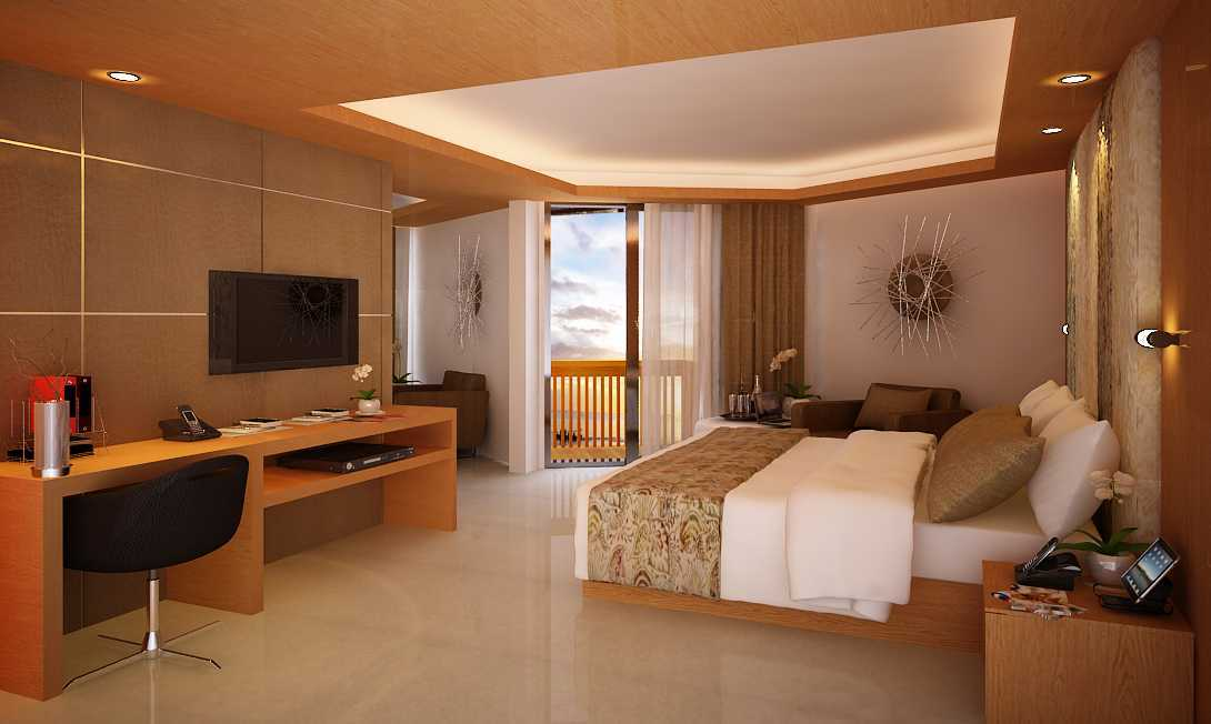 Made Dharmendra Architect Sanur Green View Hotel Sanur, Denpasar Sel., Kota Denpasar, Bali, Indonesia Sanur, Denpasar Sel., Kota Denpasar, Bali, Indonesia Bedroom View Kontemporer  49488