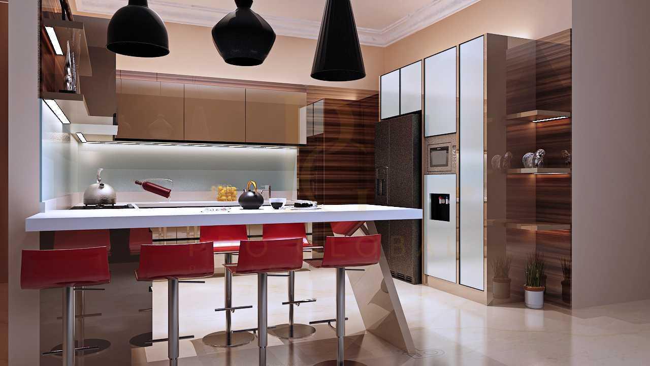 Pro global interior kitchen area dan credenza tv mampang prpt kota jakarta selatan