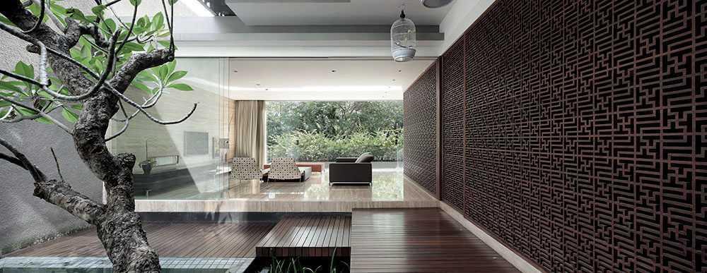 Studiokas S+H House Jakarta, Daerah Khusus Ibukota Jakarta, Indonesia  Interior View Tropical <P>Kolam Renang + Teras</p> 50299