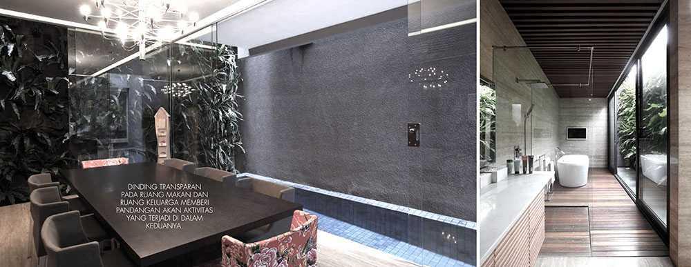 Studiokas S+H House Jakarta, Daerah Khusus Ibukota Jakarta, Indonesia  Interior View Minimalis <P>Ruang Makan &amp;&nbsp;kamar Mandi</p> 50306