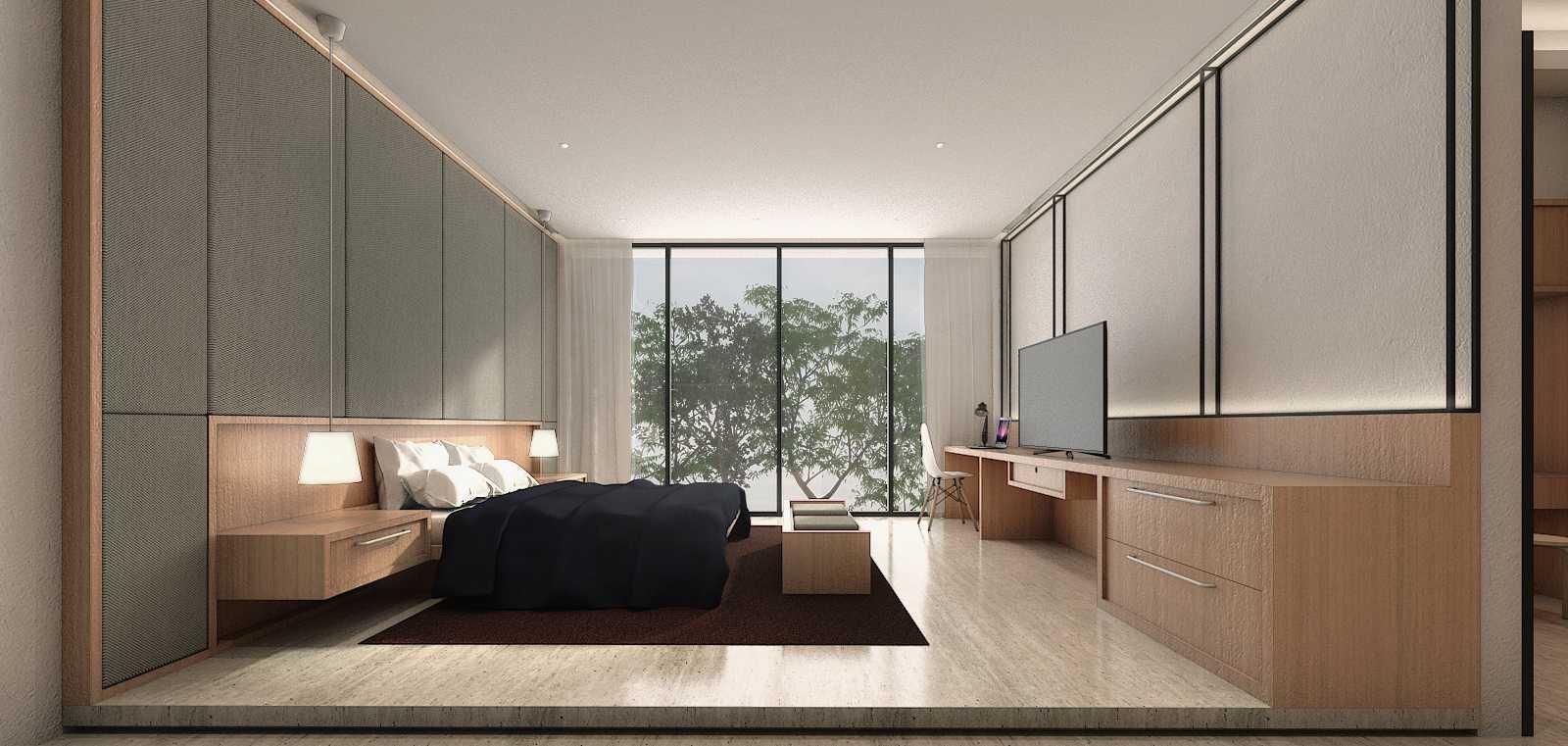Studio Go J House  Medan, Kota Medan, Sumatera Utara, Indonesia Medan, Kota Medan, Sumatera Utara, Indonesia Master Bedroom Contemporary  51410