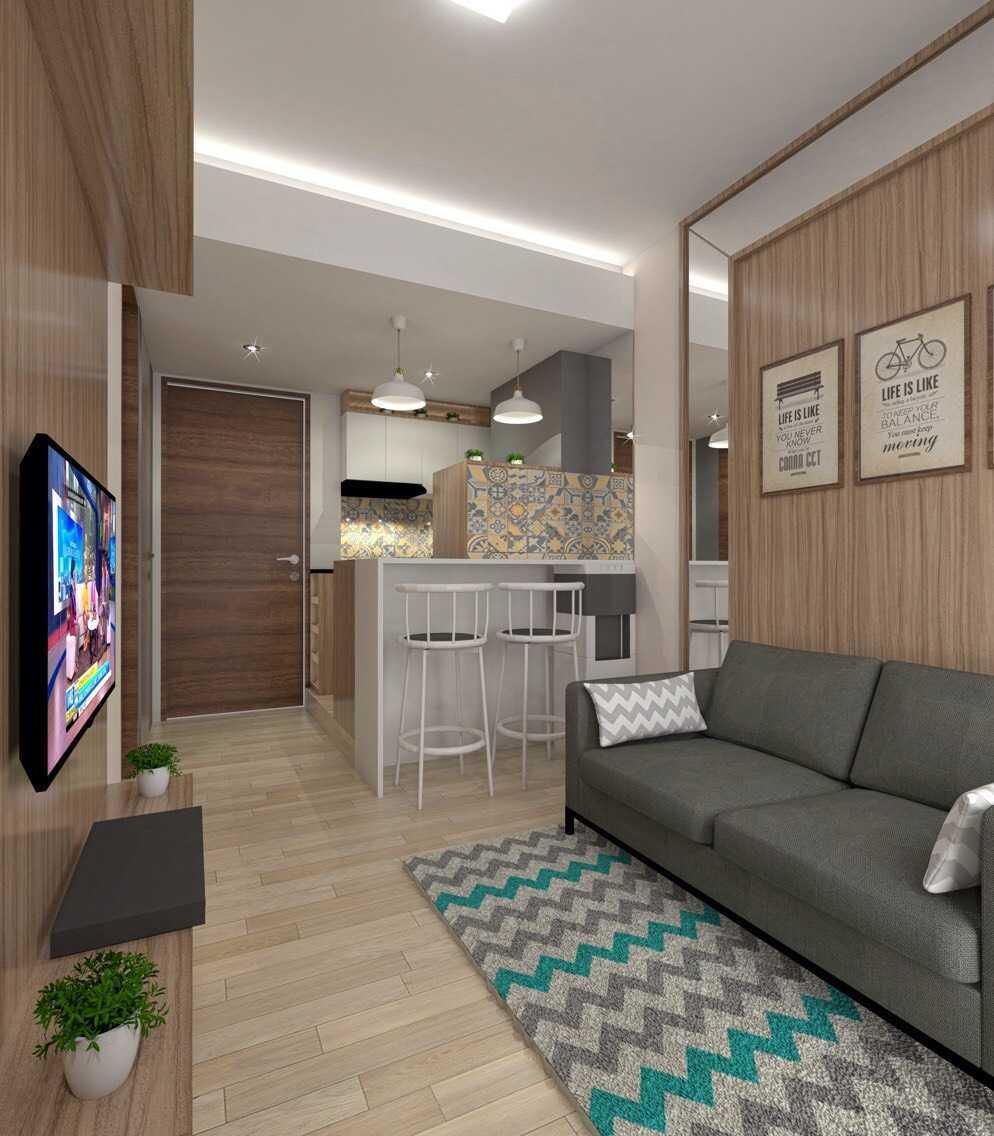 Antarruang Studio Se Apartment Bekasi, Tambelang, Bekasi, Jawa Barat, Indonesia Bekasi, Tambelang, Bekasi, Jawa Barat, Indonesia Family Room Scandinavian  51502