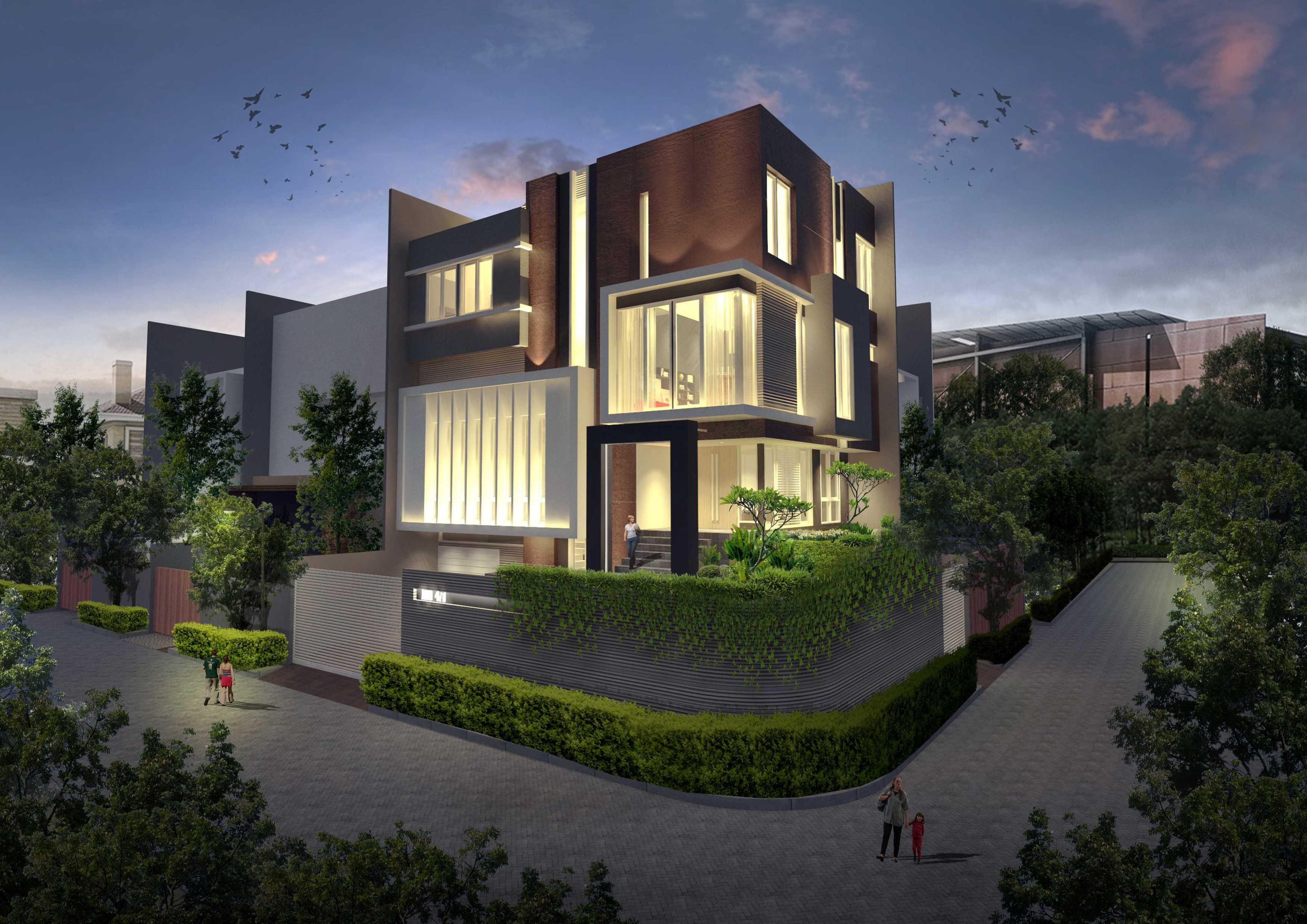 Tataruang Architects Ww House Klp. Gading, Kota Jkt Utara, Daerah Khusus Ibukota Jakarta, Indonesia  Tataruang-Architects-Ww-House   51585
