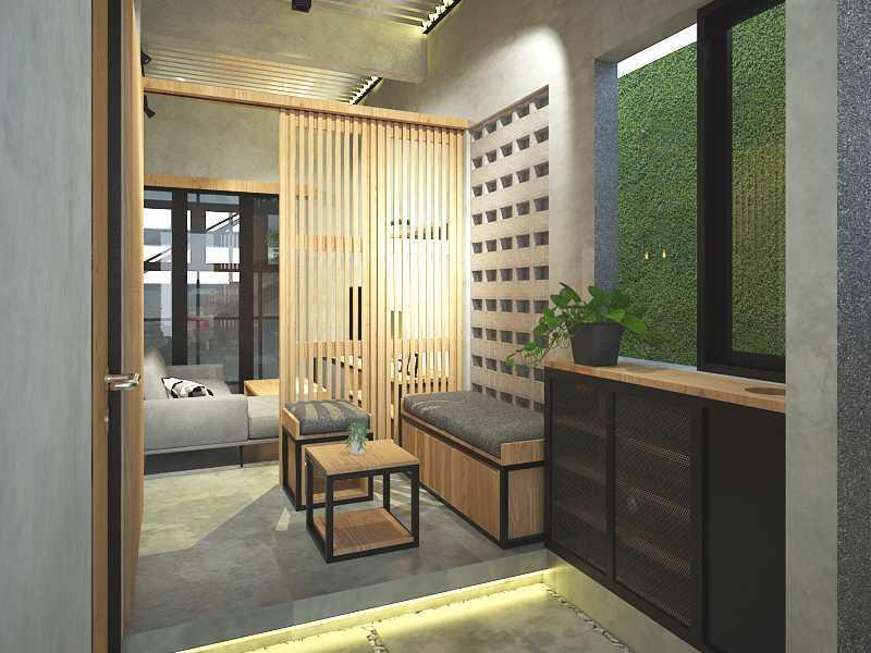 Ardharakhta Architect And Associates Arafah House Depok, Kota Depok, Jawa Barat, Indonesia Depok, Kota Depok, Jawa Barat, Indonesia Living Room   52070