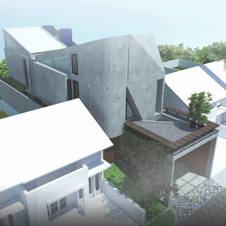 Ardharakhta Architect And Associates Arafah House Depok, Kota Depok, Jawa Barat, Indonesia Depok, Kota Depok, Jawa Barat, Indonesia Top View  <P>Bird Eye View</p> 52072