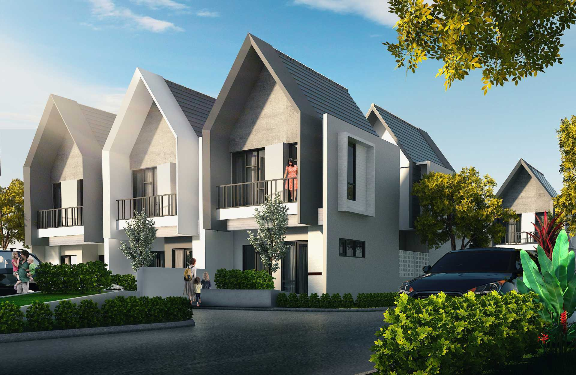 Atelier Baou Clover Park Town House  Cibinong, Bogor, Jawa Barat, Indonesia Cibinong, Bogor, Jawa Barat, Indonesia Exterior View   52358