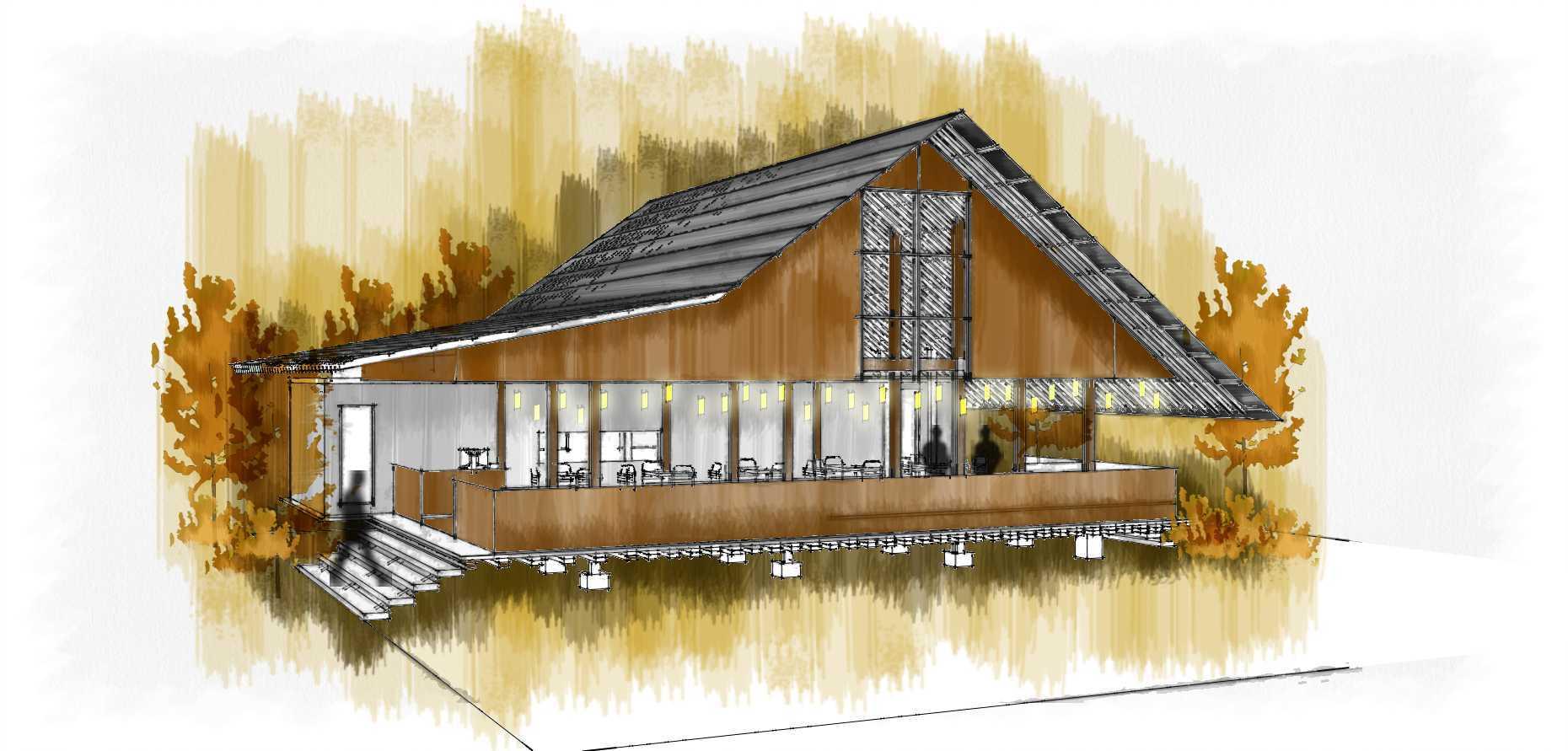 Atelier Baou+ Baduy Resto Pantai Tj. Lesung, Banten, Indonesia Pantai Tj. Lesung, Banten, Indonesia Exterior View Traditional  52459
