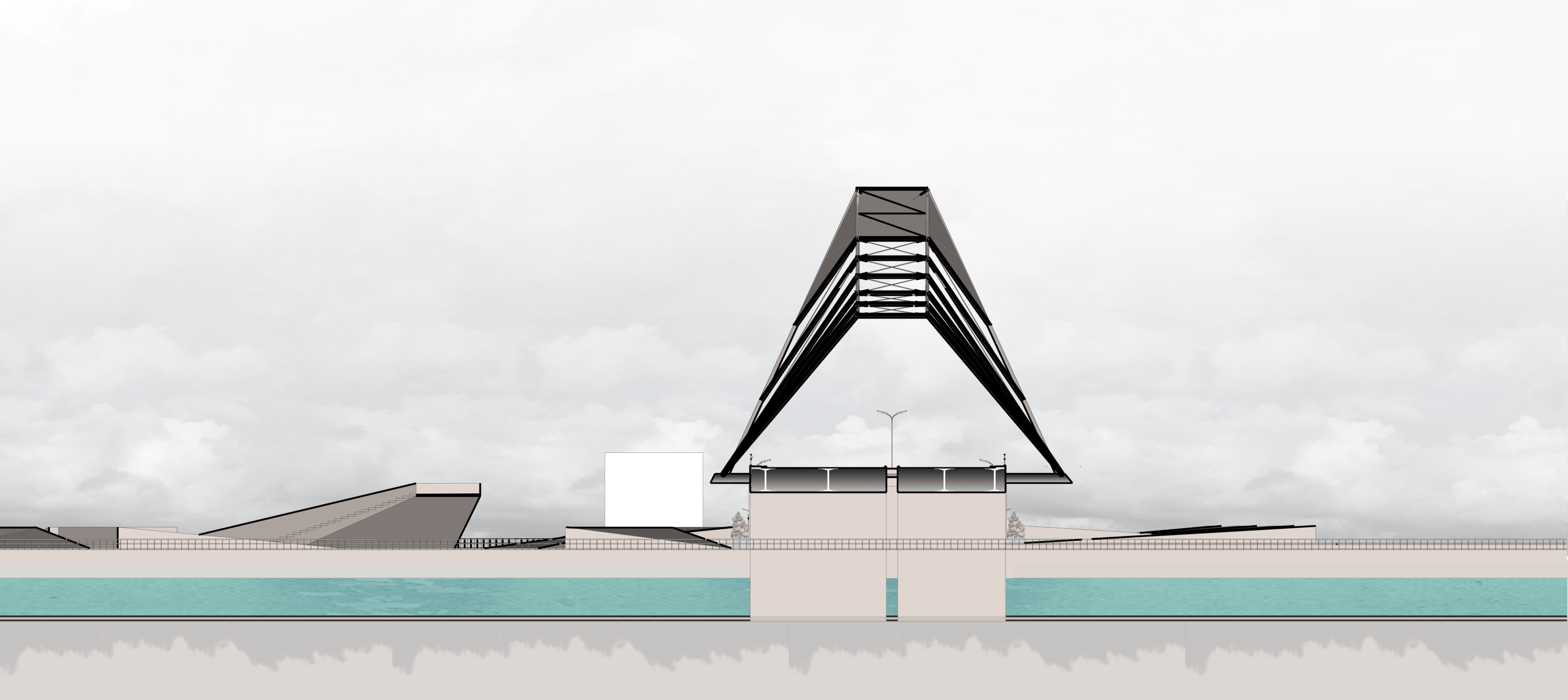 Atelier Baou Purus Bridge  Padang, Kota Padang, Sumatera Barat, Indonesia Padang, Kota Padang, Sumatera Barat, Indonesia Potongan Modern  52480