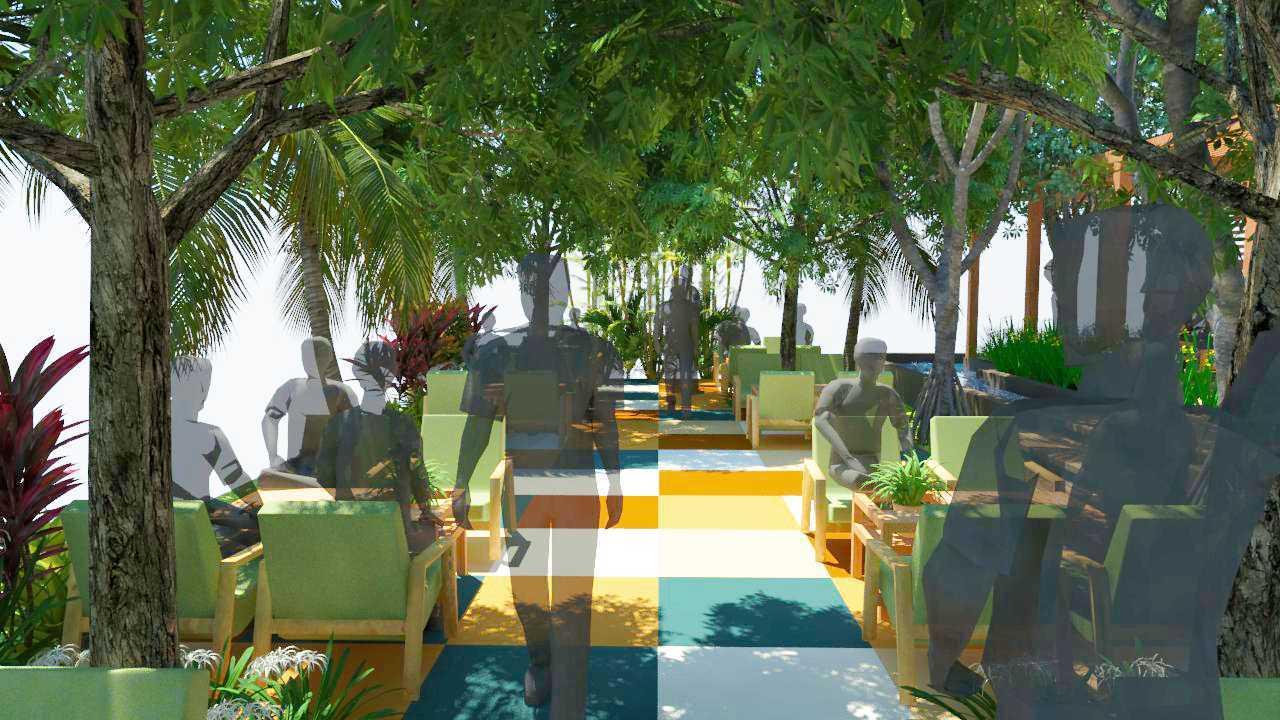 Verdant Incorporated Secret Garden Resto & Lounge Rangkui, Kota Pangkal Pinang, Kepulauan Bangka Belitung, Indonesia Rangkui, Kota Pangkal Pinang, Kepulauan Bangka Belitung, Indonesia Seating Area Restaurant Tropis  52525