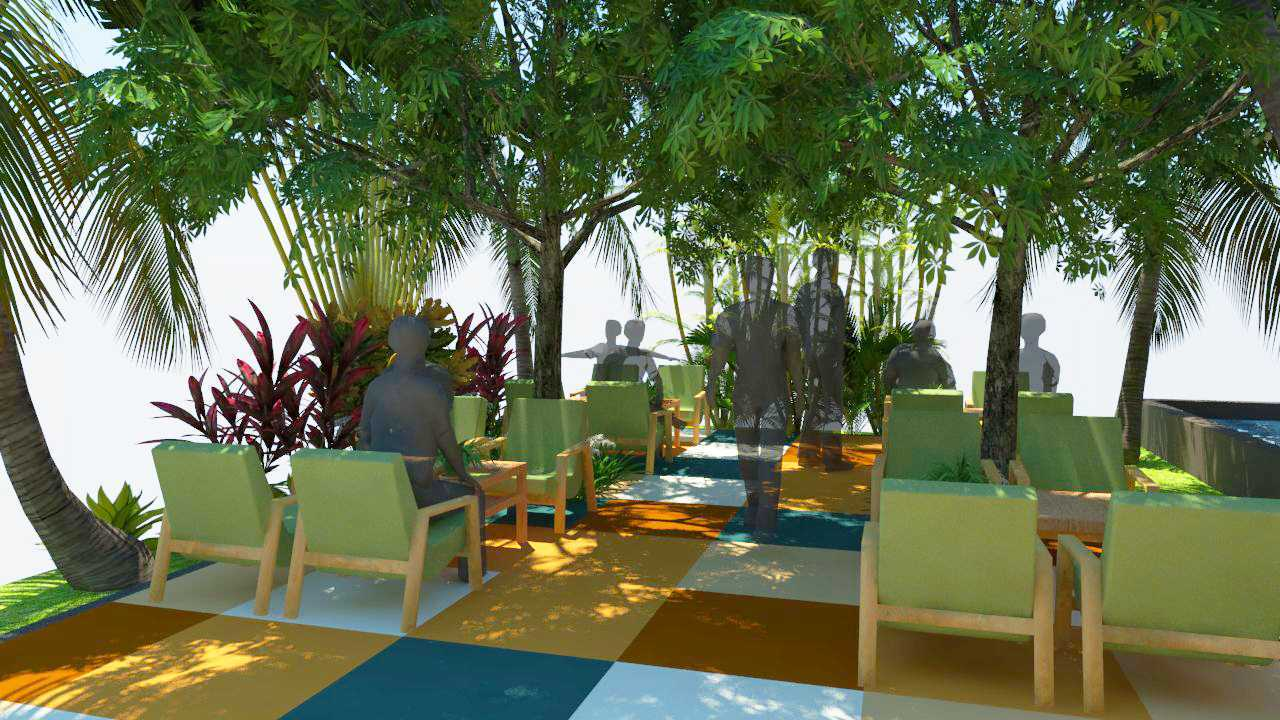 Verdant Incorporated Secret Garden Resto & Lounge Rangkui, Kota Pangkal Pinang, Kepulauan Bangka Belitung, Indonesia Rangkui, Kota Pangkal Pinang, Kepulauan Bangka Belitung, Indonesia Seating Area Restaurant Tropis  52526