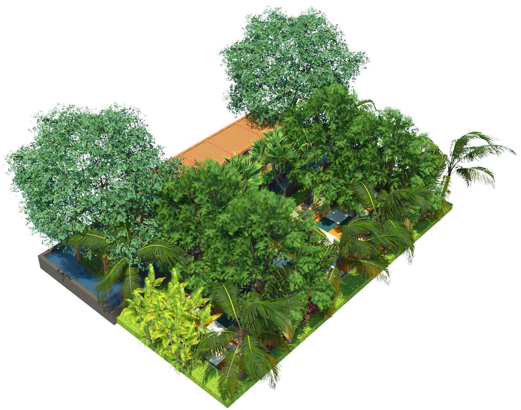 Verdant Incorporated Secret Garden Resto & Lounge Rangkui, Kota Pangkal Pinang, Kepulauan Bangka Belitung, Indonesia Rangkui, Kota Pangkal Pinang, Kepulauan Bangka Belitung, Indonesia Bird Eye View Tropis  52528