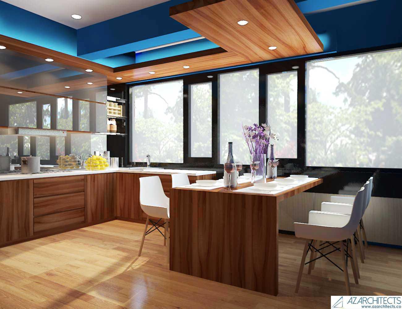 Az Architect Escape Villa Bogor, Jawa Barat, Indonesia Bogor, Jawa Barat, Indonesia Dining Area Scandinavian  53788