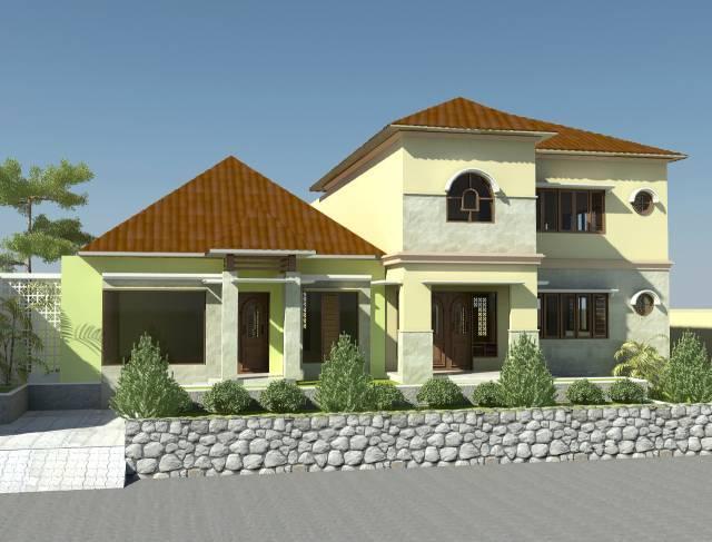 Vaastu Studio Residential Bintaro Sector I Bintaro Sector I Front View  1180