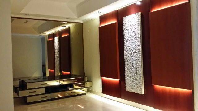 Vaastu Studio Living Room & Master Bedroom At The Sudirman Residence Jakarta Jakarta Master Bedroom  2037