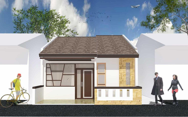 Archdesignbuild7 Rumah Minimalis Di Kopo Jl. Kopo Sayati , Bandung Jl. Kopo Sayati , Bandung Front View Minimalis 13303