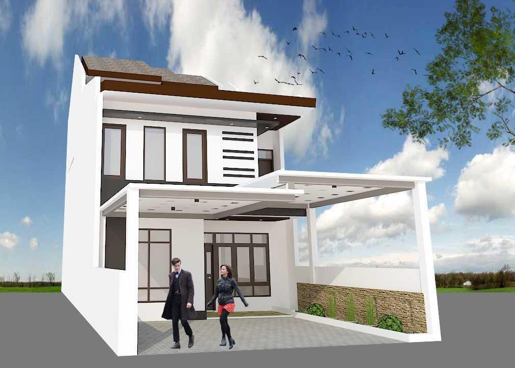 Archdesignbuild7 Project Rumah Tinggal 3 Lt Antapani , Bandung Antapani , Bandung Side View Minimalis 13426