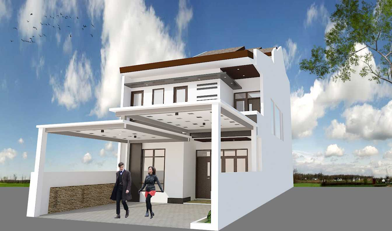 Archdesignbuild7 Project Rumah Tinggal 3 Lt Antapani , Bandung Antapani , Bandung Side View Minimalis 13428