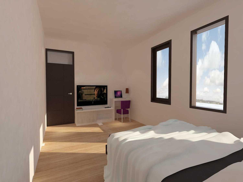 Archdesignbuild7 Project Rumah Tinggal 3 Lt Antapani , Bandung Antapani , Bandung Bedroom Minimalis 13430