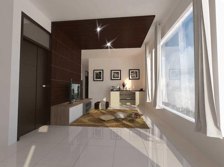 Archdesignbuild7 Project Rumah Tinggal 3 Lt Antapani , Bandung Antapani , Bandung Livingroom Minimalis 13432