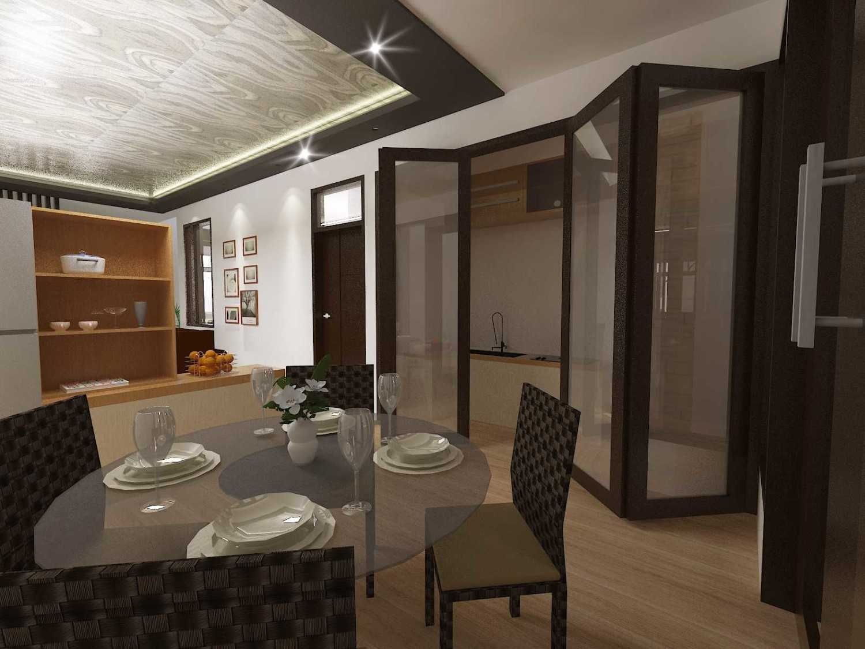 Archdesignbuild7 Project Rumah Tinggal 3 Lt Antapani , Bandung Antapani , Bandung Diningroom Minimalis 13434