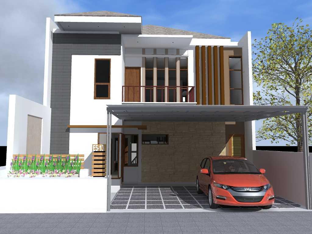 Archdesignbuild7 Project Rumah Tinggal 2 Lt Tangerang Tanggerang Tanggerang Front View Minimalis 13497