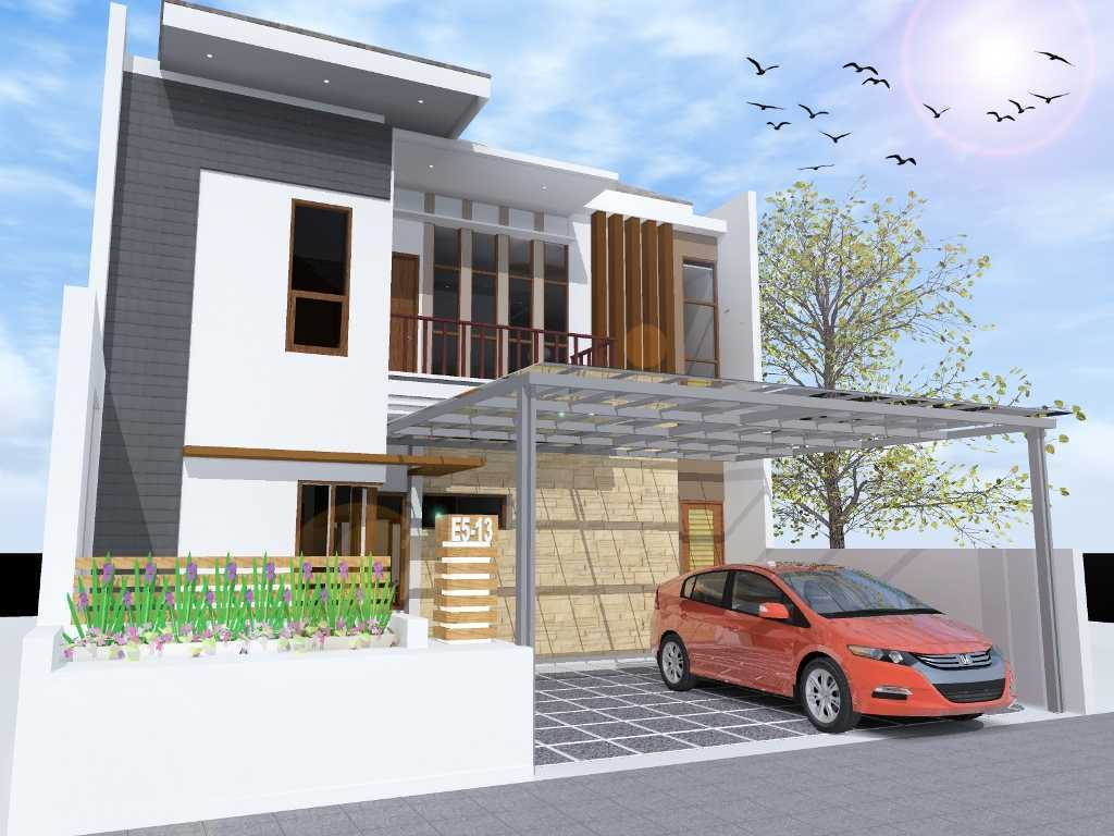 Archdesignbuild7 Project Rumah Tinggal 2 Lt Tangerang Tanggerang Tanggerang Side View Minimalis 13498
