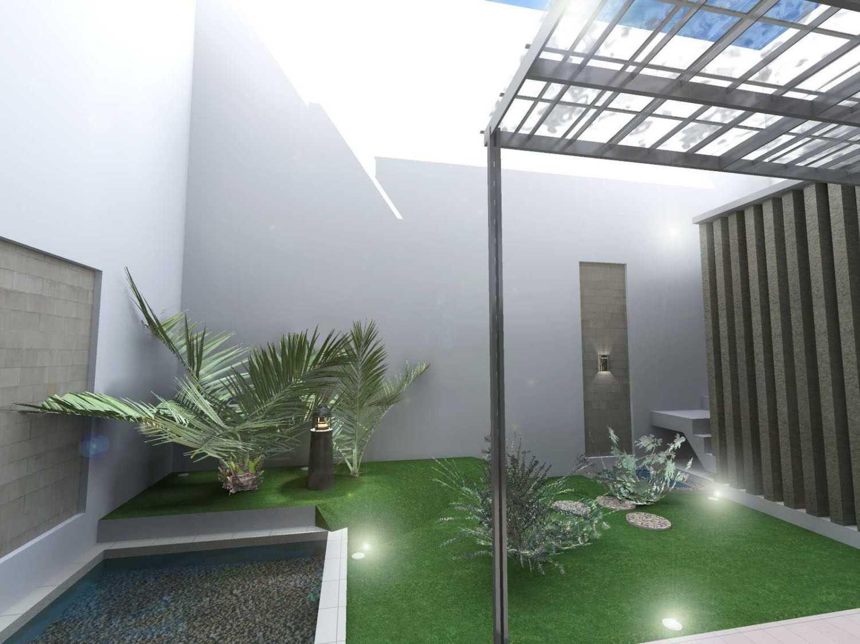 Archdesignbuild7 Project Rumah Tinggal 2 Lt Tangerang Tanggerang Tanggerang Small Garden Minimalis 13501