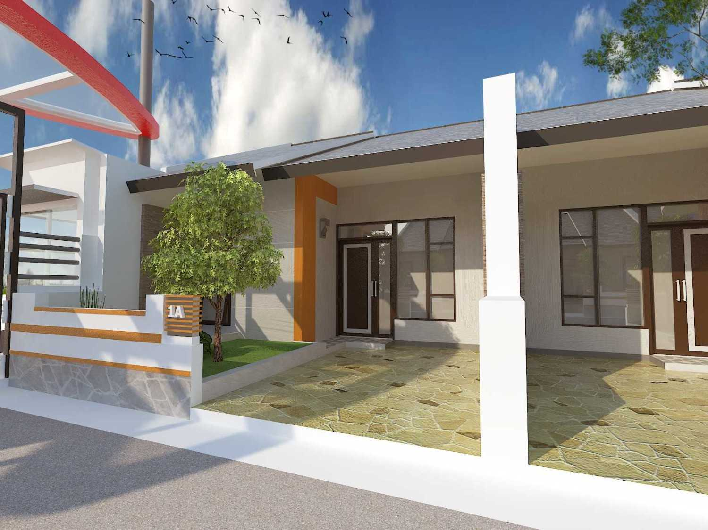 Archdesignbuild7 Project Town House  Jatimekar Jatimekar Front View Minimalis 13541